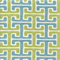 Chiara Sussex Pool Blue Green Cotton Geometric Drapery Fabric by Swavelle Mill Creek Swatch
