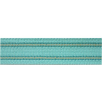 Grassi Teal Blue Tape Trim Swatch
