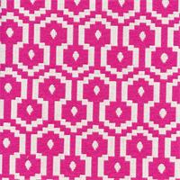 Jamboree Tutti Fruitti Pink Woven Geometric Upholstery Fabric by P Kaufmann