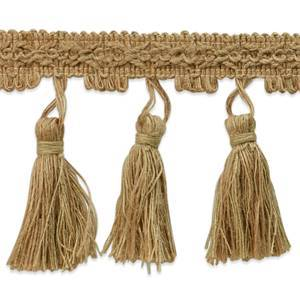 IR6945 NT Natural Jute Tassel Trim