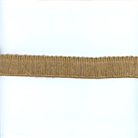 Ir7014 NT Natural Tan Jute Brush Fringe
