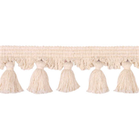 Natural 1577 Natural Off White Tassel Trim