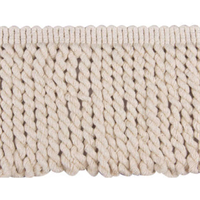 Natural 1582 Natural Off White Bullion Fringe Swatch
