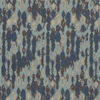 Amba Cadet Macon Blue and Grey Contemporary Print Drapery Fabric by Premier Prints