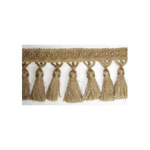 IR4312 Natural Jute Tassel Trim - 10 Yard Reel