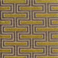 Theseus Citrine Grey Latex Backed Rectangular Upholstery Fabric Swatch