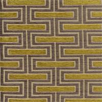 Theseus Citrine Grey Latex Backed Rectangular Upholstery Fabric Swatch