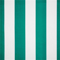 Vertical Pacific Blue and White Stripe Indoor Outdoor Fabric by Premier Prints