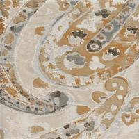 Darjeeling Carmel Beige Woven Upholstery Fabric