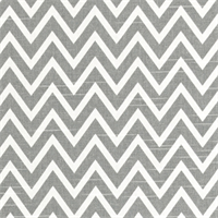 Cosmo Ash Slub Grey Chevron Drapery Fabric by Premier Prints