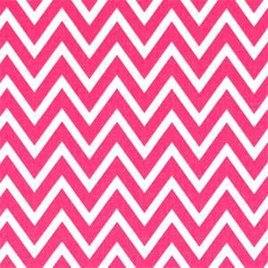 Cosmo Candy Pink Chevron Drapery Fabric by Premier Prints 30 Yard Bolt