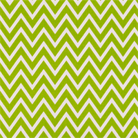 Cosmo Chartreuse White Chevron Drapery Fabric by Premier Prints