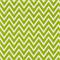 Cosmo Chartreuse White Chevron Drapery Fabric by Premier Prints