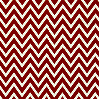 Cosmo Lipstick White Chevron Drapery Fabric by Premier Prints