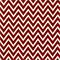 Cosmo Lipstick White Chevron Drapery Fabric by Premier Prints