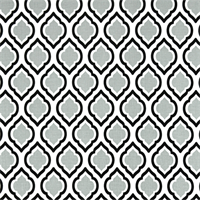Curtis Cool Grey Moroccan Tile Drapery Fabric by Premier Prints 30 Yard Bolt