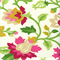 Set in Spring Punch Pink Cotton Drapery Fabric by Waverly Swatch