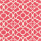 Lovely Lattice Blossom Pink Geometric Drapery Fabric by Waverly Swatch