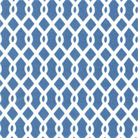 Ellis Atlantic Blue Contemporary Outdoor Fabric by Waverly Swatch
