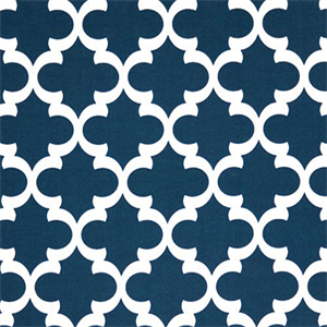 Outdoor Fynn Oxford Blue Geometric Print By Premier Prints