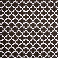 Outdoor Fynn Bay Brown Geometric Fabric by Premier Prints Swatch