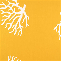 Coral Yellow Outdoor by Premier Prints Swatch