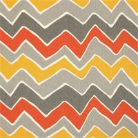 Seesaw Citrus Chevron Indoor/Outdoor Print by Premier Prints Swatch
