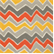 Seesaw Citrus Chevron Indoor/Outdoor Print by Premier Prints Swatch