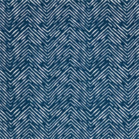 Outdoor Cameron Oxford Blue Zig Zag Fabric by Premier Prints