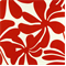 Twirly American Red Floral Outdoor by Premier Prints - Swatch