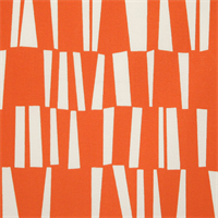 Sticks Orange Indoor Outdoor Fabric by Pemier Prints