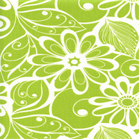 Goodison Panorama Meadow Green Floral Drapery Fabric by Swavelle Mill Creek Swatch