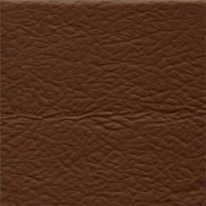 Cowboy Brown Solid Heavy Backed Faux Silk Fabric