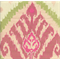 Sojourn Ikat Spring Pink Upholstery Fabric by P Kaufmann