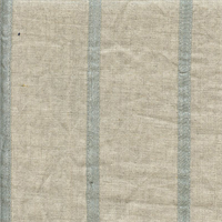 Metallic Stripe Pewter Grey Drapery Fabric by P Kaufmann Swatch