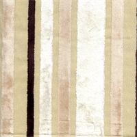 Velvet Stripe #793 Ivory Upholstery Fabric Swatch