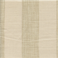 Stonewall Parchment Tan Stripe Drapery Fabric by P Kaufmann Swatch