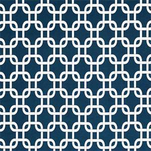 Gotcha Oxford Blue Geometric Outdoor Fabric by Premier Prints 30 Yard Bolt