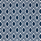 Nicole Oxford Blue Ornament Design Outdoor Fabric by Premier Prints Swatch
