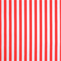 Outdoor Stripes Calypso Red-Orange Fabric by premier Prints