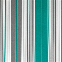 Terrace Pacific Striped Indoor/Outdoor Fabric by Premier Prints Swatch