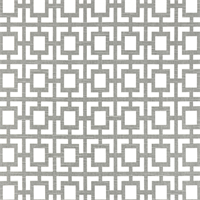 Ash Gray Slub Geometric Outdoor Fabric by Premier Prints