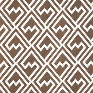 Shakes Italian Brown Drew Drapery Fabric by Premier Prints