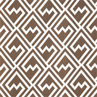 Shakes Italian Brown Drew Drapery Fabric by Premier Prints Swatch