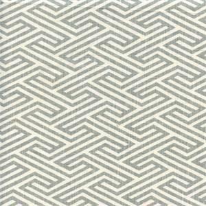 Tuscany Dynasty Grey Contemporary Linen Drapery Fabric