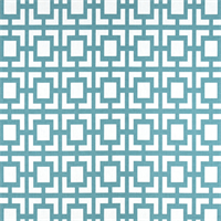 Gigi Regatta Blue Geometric Fabric by Premier Prints