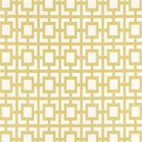 Gigi Saffron Macon Yellow Geometric Design Fabric by Premier Prints
