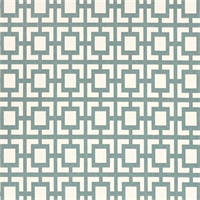 Gigi Saffron Macon Gray Geometric Fabric by Premier Prints