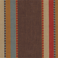 Apache Brick Roth & Tompkins Upholstery Fabric Swatch