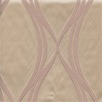 Majestic Wave Blush Pink Contemporary Embossed Faux Silk Drapery Fabric